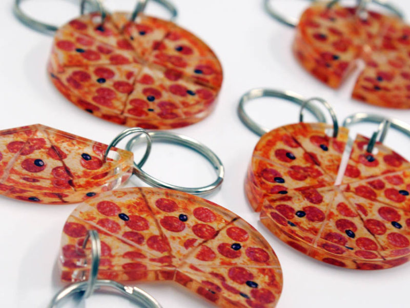 Pleksi privjesak Pizza
